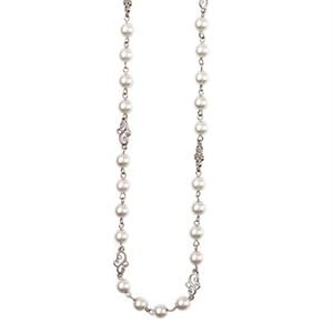 Picture of Precious Pearls Silver Necklace