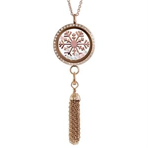 Picture of Rose Gold Winter Locket